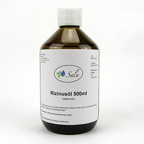 Sala Rizinusöl kaltgepresst 500 ml
