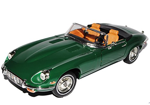 Jaguar E-Type 1971 Cabrio GrÜn Oldtimer 1/18 Yatming Modellauto Modell Auto