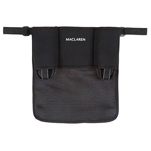 Maclaren Organisateur Universel - Gardez le nécessaire à portée de main. L'accessoire se fixe facilement sur toutes les poussettes Maclaren et toutes les poussettes cannes simples d'autres marques