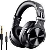 OneOdio A70 Bluetooth Headphones Over Ear, Hi-Fi Stereo Wireless&Wired Headset with CVC6.0 Mic