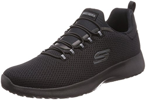 Skechers - Sneaker da uomo Dynamight (58360 NVY), numeri grandi, blu, Nero (Nero ), 43.5 EU