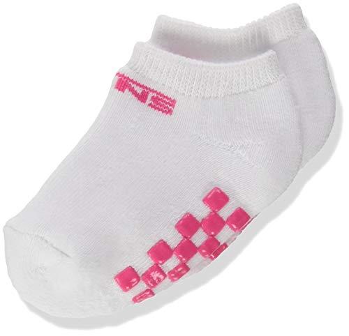 Vans Classic Kick Infant (0-12 MO, 1PK) Calcetines, WHITE-PINK, One Size para Bebés