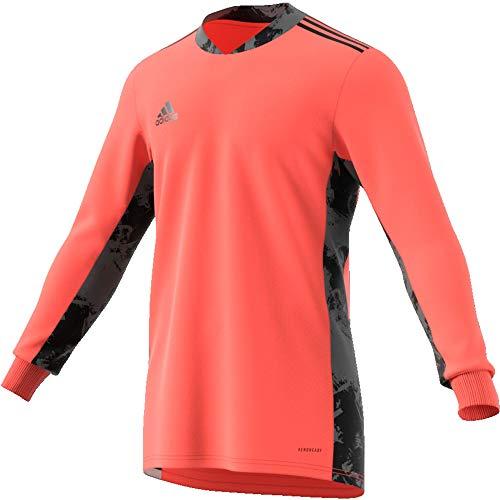 adidas Herren Adi Pro 20 Goalkeeper Jersey Longsleeve Torwarttrikot, Signal Coral/Black, S