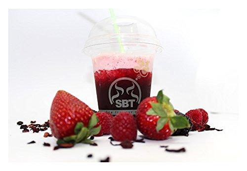 SABOREATE Y CAFE THE FLAVOUR SHOP Infusión Natural Granel de Frutas Piña Colada Te de Frutal 100 Gramos