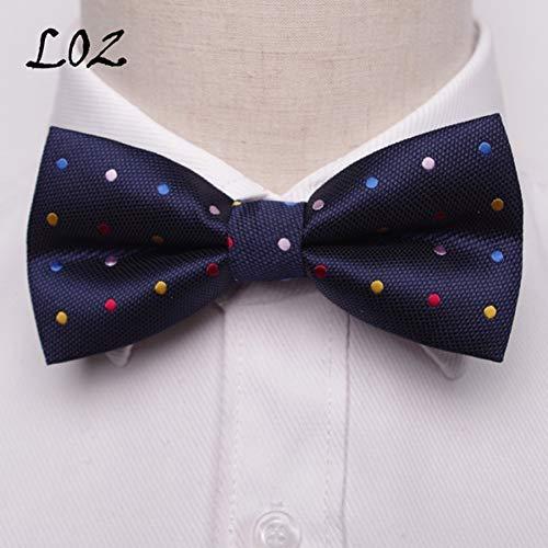 DYDONGWL Krawatten Herren,Holz Fliege,Bowtie Männer Formale Krawatte Jungen Herrenmode Business Hochzeit Fliege Männlich Smokinghemd Krawatte