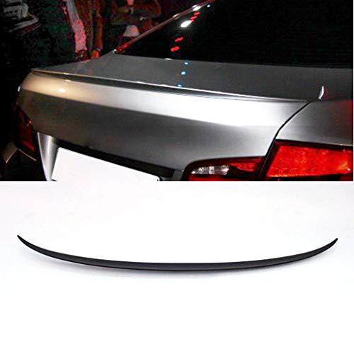 TYMDL Auto Heckspoiler Flügel für BMW F10 M5 520i 530i 535i Sedan 4 Door 2011-2017 ABS, Performance Carbon Fiber Limousine Kofferraum Rear Dach Lippe Flap Wing Fenster