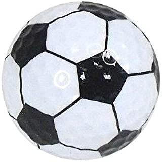 Golf Balls, Nitro Novelty Soccer Ball, 3 Pack White