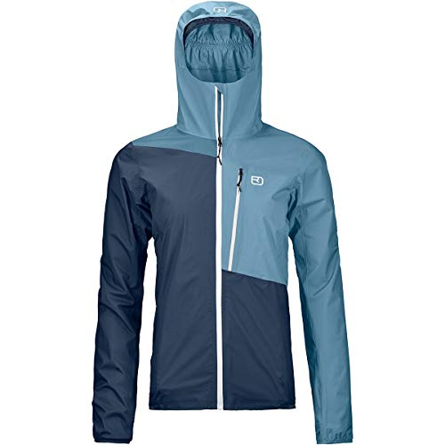 ORTOVOX Damen 2.5L Civetta Jacket W Weste, Blau (Blue Lake), XL