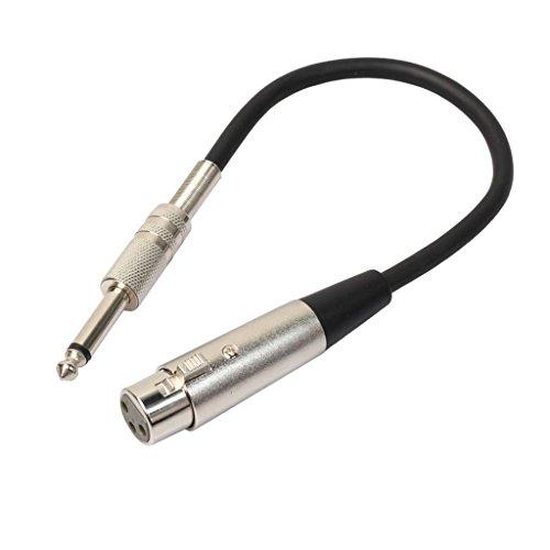 sharprepublic Cable Macho XRL Hembra de 3 Pines para Altavoces Amplificadores de...