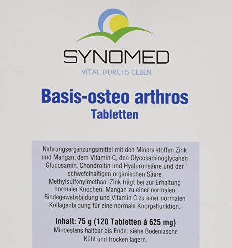 Basis-osteo arthros Tabletten, 120 Tabletten (75 g)