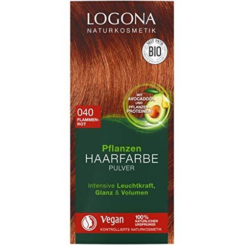 Logona Pflanzen-Haarfarbe-Pulver flammenrot (100 g)