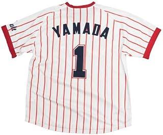 NPB 東京ヤクルトスワローズ グッズ 山田哲人 復刻ユニフォーム (1978-1989ホーム)...