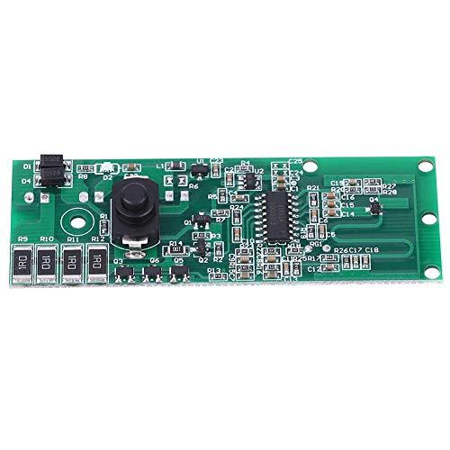 【2021 Promoción de año Nuevo】 Módulo Controlador, módulo Controlador de lámpara Solar Placa de Circuito Inducción por Radar de microondas con Interruptor 3.2V/3.7V