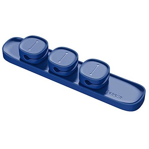 Hihey Cable Protector Cable magnético Protector Clip Clip Cable USB Devanadera Organizador...