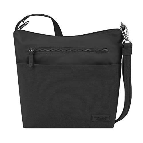 Travelon: Anti-Theft Metro Crossbody Bag - Black