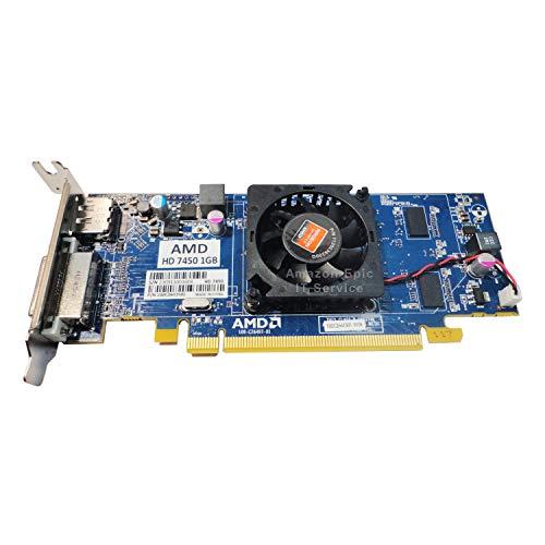 AMD Radeon HD 7450 - Tarjeta gráfica de bajo perfil (1 GB, 1024 MB, compatible con ordenadores delgados/SFF)