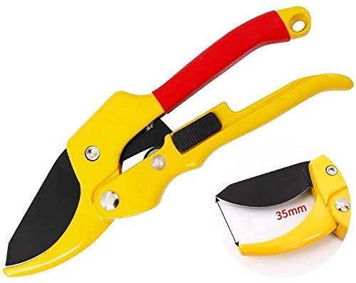 Schaar Bypass Snoeischaar, Premium Utility Garden Clippers Schaar met spons handvat Protector, for Tuin Pruners Hand,