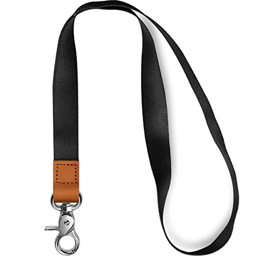 AZEAM Lanyard Keychain Holder with Metal Clasp, ID Badges Lanyard for Men Women, Long Neck Lanyard for Card Holder, Car Key, Whistle, Wallet, Key Chain