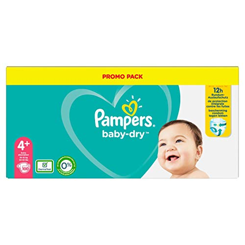 Pampers 81714371 - Baby-dry pañales, unisex