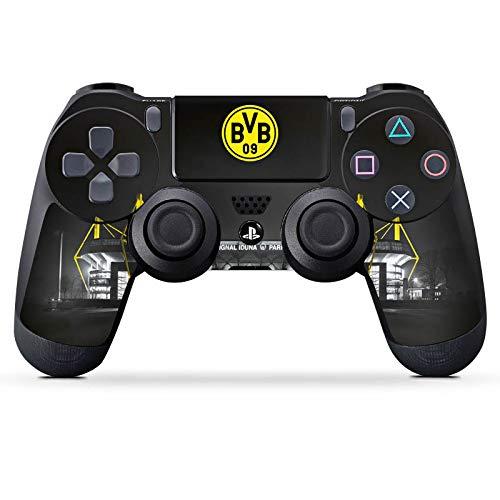 DeinDesign Skin kompatibel mit Sony Playstation 4 PS4 Controller Aufkleber Folie Sticker BVB Stadion Borussia Dortmund