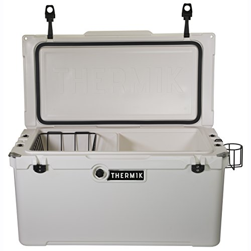 Thermik High Performance Roto-Molded Cooler, 75 qt, White