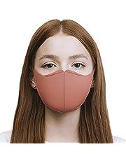 DEEVA [Amazon限定ブランド] 高機能ウレタンマスク 2枚セット UVカット99%以上 耳が痛くなりにくい 洗えるマスク 男性/女性用