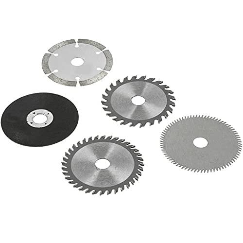 Mini hoja de sierra circular, herramienta de corte, interior de 15 mm, exterior de 85 mm, para máquinas de corte de mármol, sierras de mano eléctricas