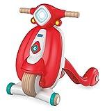 Un simpatico scooter dal design vintage in materiale 100% riciclato, per saltare a bordo del divertimento e muovere i primi passi nel mondo! Un gioco primi passi spingibile a forma di scooter per favorire lo sviluppo della motricità dei più piccoli, ...