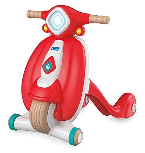Clementoni, Il Mio Primo Scooter, Gioco Primi Passi Spingibile, Plastica 100% Riciclata, Prima Infanzia, Bambini 10 mesi+, Play For Future, Made in Italy, 17403