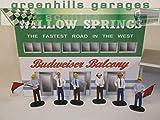 F406 - Greenhills Scalextric Carrera Set of Standing Spectators & Marshalls x 6 1.32 Scale - NEW