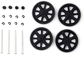 itYukiko Upgrade Motor Pinion Gear Gears&Shaft Replacement for Parrot AR Drone 1.0 2.0