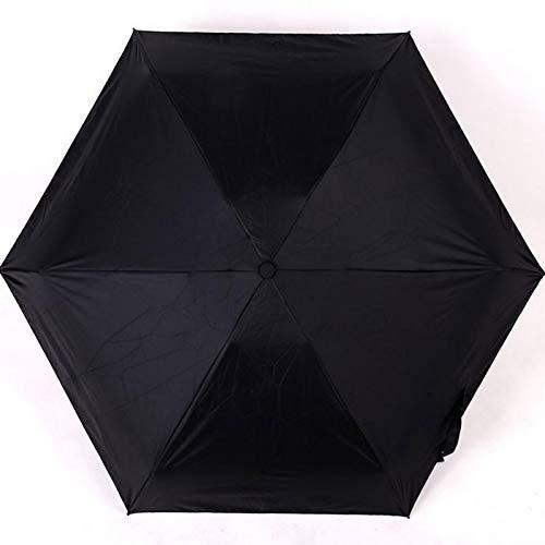 NFHBBAA Parapluie Pluie Femelle Parapluie Pliant Protection Parapluie