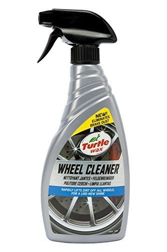 Turtle Wax TW52879 Limpia Llantas en Spray, Acción Rápida, No daña, Elimina Suciedad para un Brillo como Nuevo, 500 ml, Ruedas