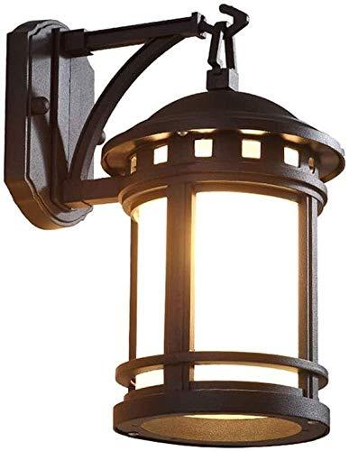 Aplique de pared Deco, Lámpara de pared Iluminación pared lámpara de pared impermeable al aire libre de la luz de la pared de iluminación exterior que cuelga de vidrio aplique de la pared exterior de