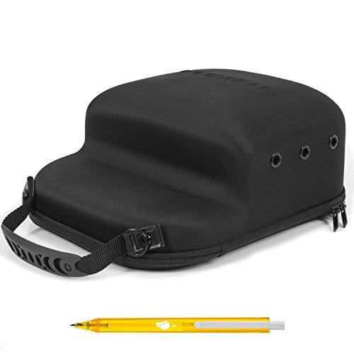 Flexfit GM Cap Bag - Platz für 6 Kappen - Kappen Tragetasche - Cap Carrier Caps/Basecaps/Snapback Caps/New Era Caps und Schirmmützen - mit GM-IT Kugelschreiber