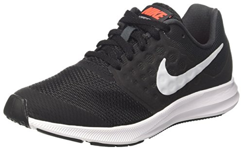 Nike Downshifter 7 (Gs), Zapatillas de Running para Niños, Gris (Anthracite/Pure Platinum/Black), 37.5 EU