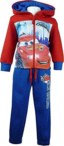 Disney Cars Lightning McQueen Jungen Trainingsanzug / Jogginganzug Rot-8 Jahre / 128 cm