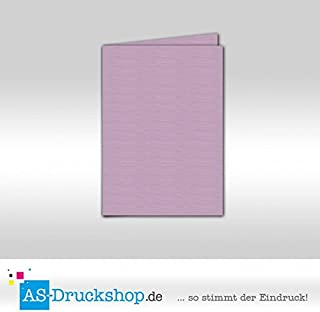 Faltkarte Doppelkarte - Sakura - mit Strukur 50 Stück DIN A5 B0794YF6XR  Niedriger Preis