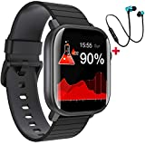 Smartwatch Orologio Fitness Tracker Uomo Donna, Impermeabile IP68 Smart Watch Cardiofrequenzimetro...