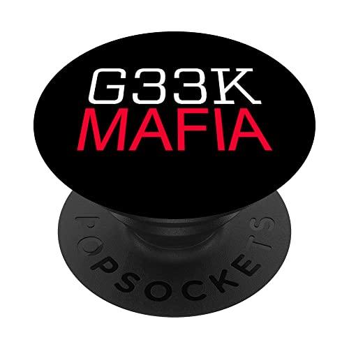 G33K MAFIA Geek ordenador nerd Tech Programmer Gamer Science PopSockets PopGrip Intercambiable