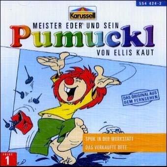 Meister Eder 01 und sein Pumuckl. Spuk in der Werkstatt. Das verkaufte Bett. CD: Das Original aus dem Fernsehen by Unknown(2015-04)