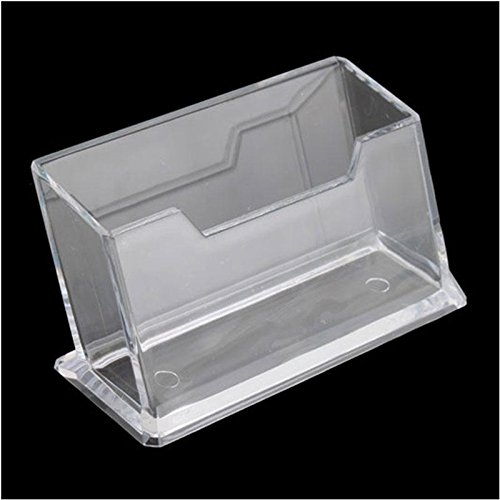 ZHUOTOP Soporte de plástico transparente para tarjetas de visita