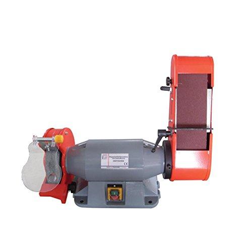 Holzmann DSM 100200B Doppelschleifmaschine + 2 Schleifbänder gratis dazu