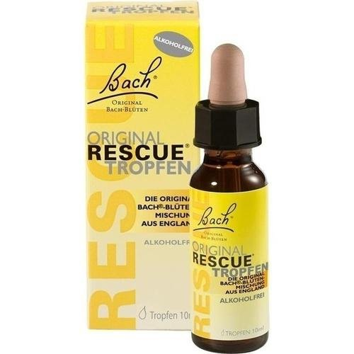BACH ORIGINAL Rescue Tropfen alkoholfrei 10 ml