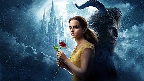 Emma Watson - Póster de Belleza y la bestia (12 x 18 pulgadas), multicolor