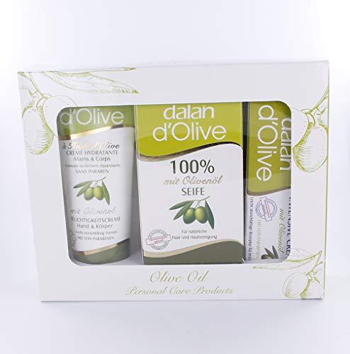 Dalan d'Olive Set 3 teilig, Karton, 150 g