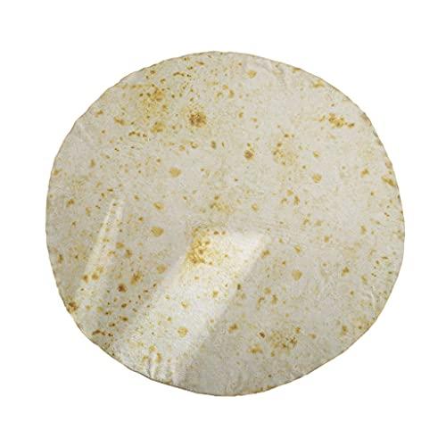 Wusuowei Almohada de manta redonda, almohada de apoyo lumbar, almohada lavable en la cintura, almohada desmontable de rollo de cama