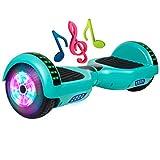 SISGAD 6.5 Zoll Hoverboard, Self Balancing Scooter Elektro Scooter Hover Scooter Board mit Eingebaute Bluetooth Lautsprecher, LED-Blitzrädern elektrisches Skateboard für Kinder und Jugendliche
