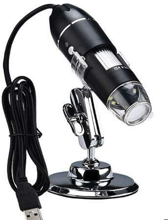 HBFFL 1000X WiFi Microscope Digital Microscope Magnifier Camera 8LED w/Stand for Android iOS iPhone iPad