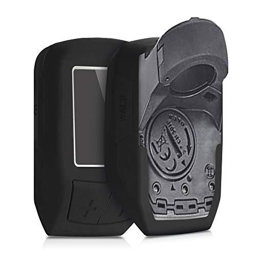 kwmobile Funda Compatible con Bosch Purion - Carcasa de Silicona para ciclocomputador - Cover en Negro